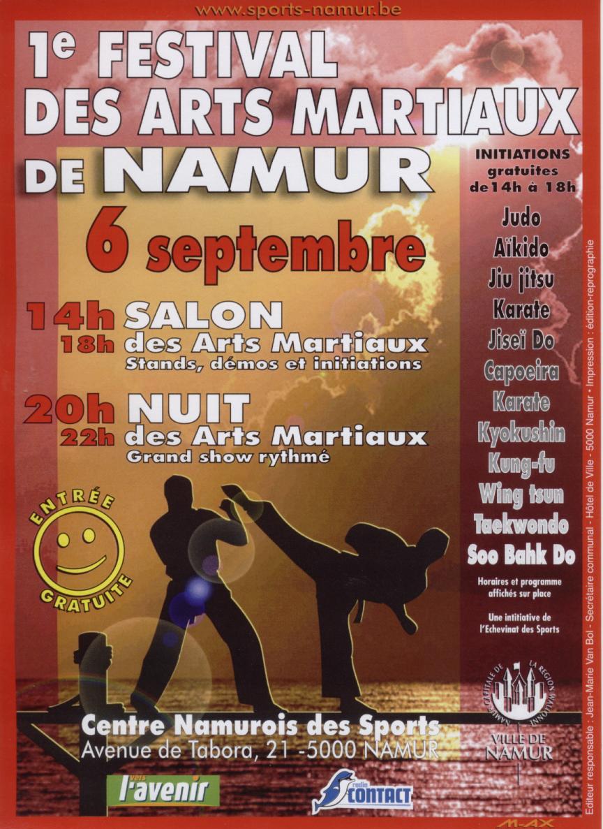 Ev nements pass s association francophone d 39 arts for Arts martiaux pdf